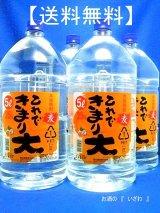 【送料無料】本格むぎ焼酎 これできまり大 25度 5000ml(ケース4本) ペットボトル 鹿児島県 若松酒造